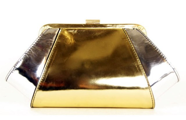 metallic leather bag Zac Posen