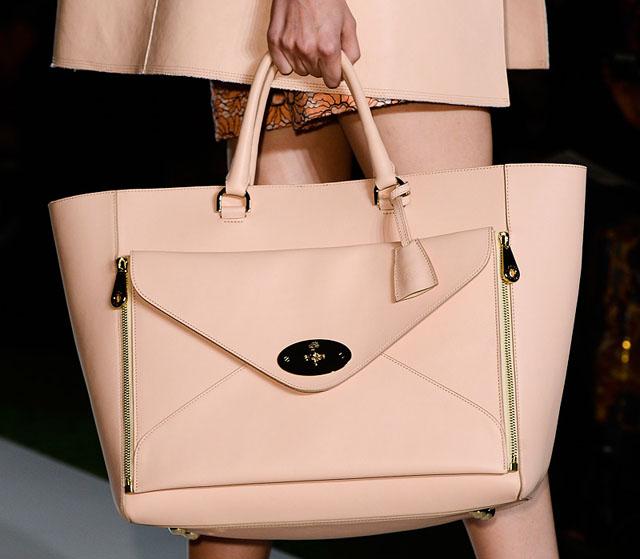 önden fermuarlı çanta