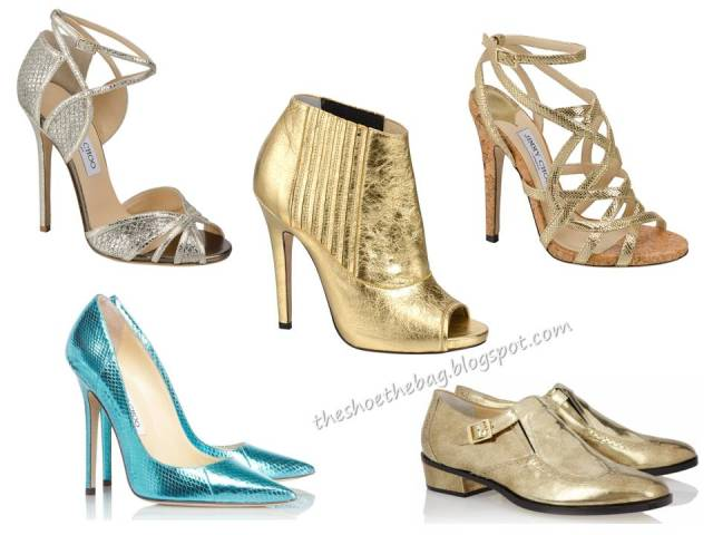 Jimmy Choo metallic shoes heels flats oxford masculin bootie