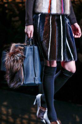 Fendi fall winter 2013 2014 shoes bags fur