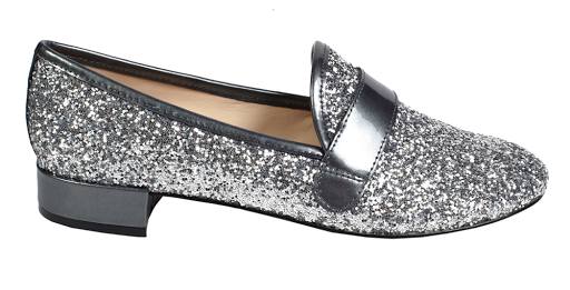silver loafer by nine west
