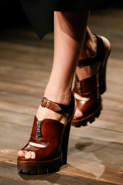 prada lug sole sandal