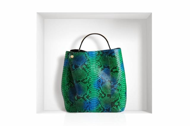 Christian Dior Diorific bag pyhton snake leather