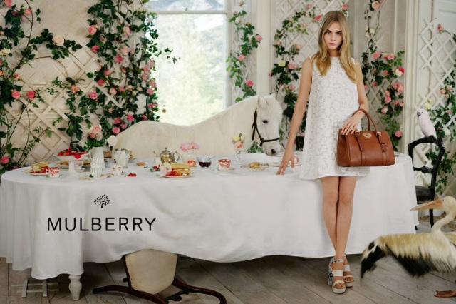 mulberry spring summer ad campaign bayswater bag