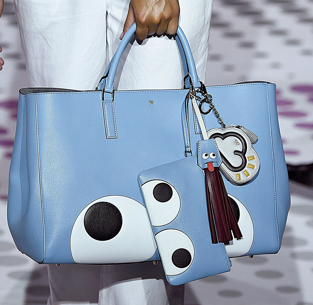 Anya-Hindmarch-Spring-2015-blue-bag