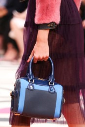 burberry prorsum blue bag