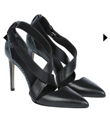Alexander Wang Topuklu Ayakkabı siyah yan